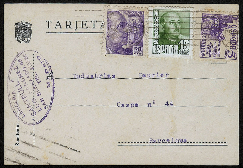 EDIFIL. ENTERO POSTAL CON SELLO Nº 922-1021-1062. (18)