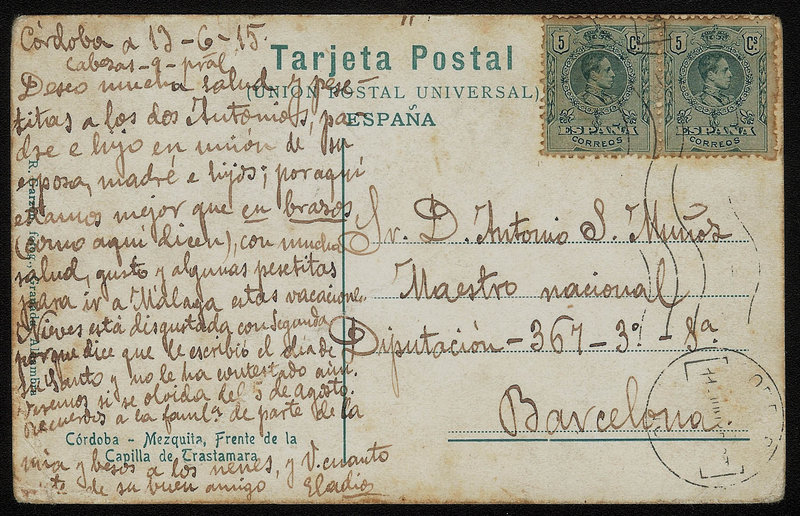 EDIFIL. ENTERO POSTAL CON SELLO Nº 268(2). (36)