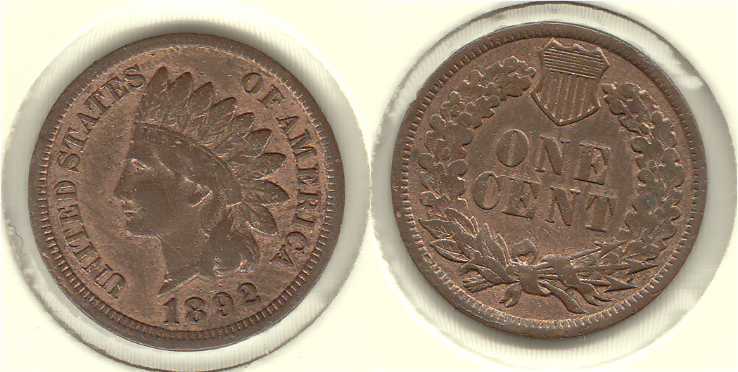 ESTADOS UNIDOS - UNITED STATES. 1 CENTIMO (CENT) DE 1892.